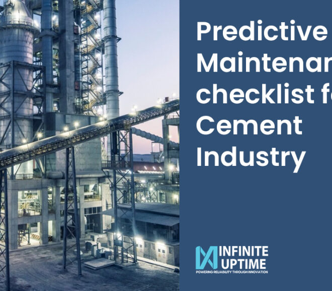Predictive Maintenance checklist