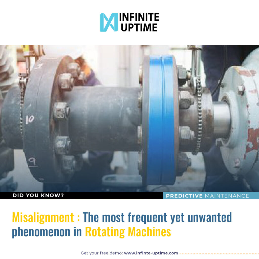 Misalignment – the most frequent yet unwanted phenomenon in rotating machines